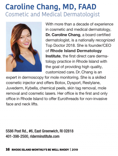 Dr. Caroline Chang | Cosmetic and Medical Dermatologist