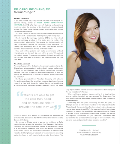 Leading Ladies | Dr. Caroline Chang